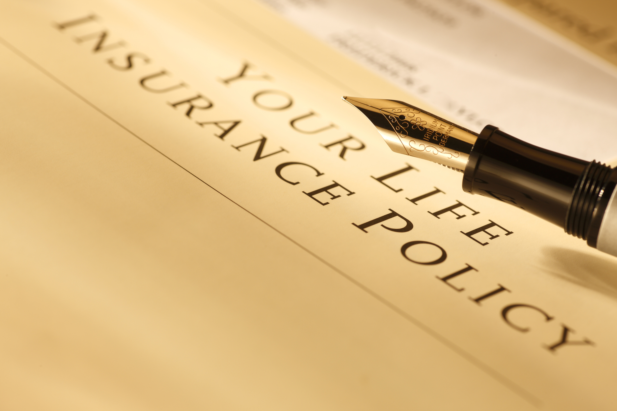image of life insurance policy