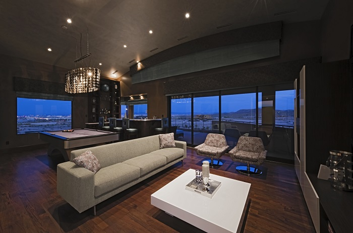 Interior of Fancy Condo Unit